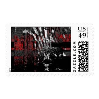 Mothman Postage Stamp