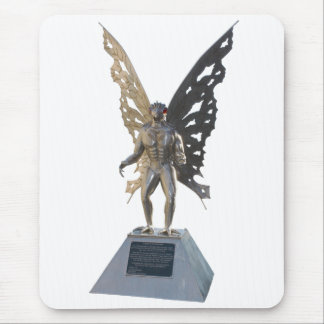 Mothman Statue from Point Pleasant West Virginia Mouse Pad