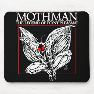 Mothman: The Legend of Point Pleasant Mouse Pad
