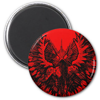 Mothman - Up Close and Personal Magnet