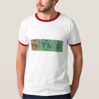 Moths-Mo-Th-S-Molybdenum-Thorium-Sulfur.png T-Shirt