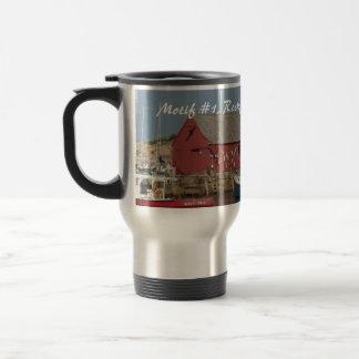 Motif #1 Blue Boat commuter cup