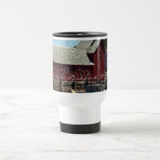 """Motif  #1, Rockport, MA"" Travel Mug"