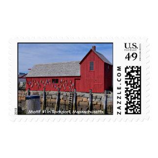 Motif #1-Rockport Massachusetts-Stamp Postage