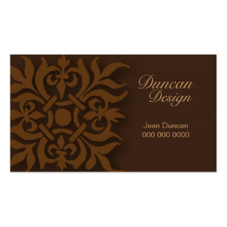 Motif--Card 2 Double-Sided Standard Business Cards (Pack Of 100)