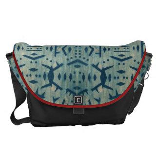 Motif Cyanotype Wood Large Messenger Bag 3