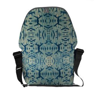 Motif Cyanotype Wood Medium Messenger Bag 2