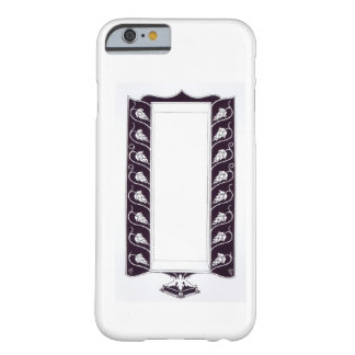 Motif design, probably from 'Le Morte d'Arthur', c Barely There iPhone 6 Case