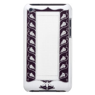 Motif design, probably from 'Le Morte d'Arthur', c iPod Touch Cover