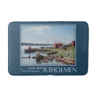 """""""Motif from Jutholmen"""" art bath mat"""