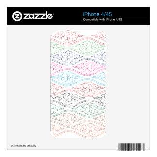 Motif Mega Mendung Full Colour iPhone 4S Decal