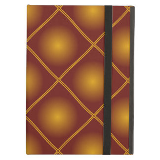 motif pattern couleur automnale marron case for iPad air
