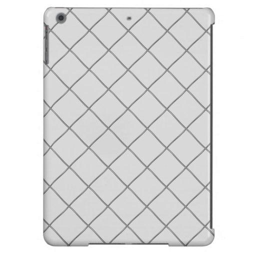 motif pattern ligne sobre iPad air cover