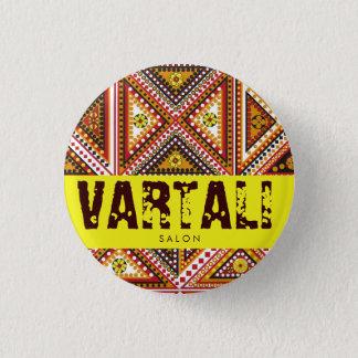 Motif Pattern Vartali Round Button