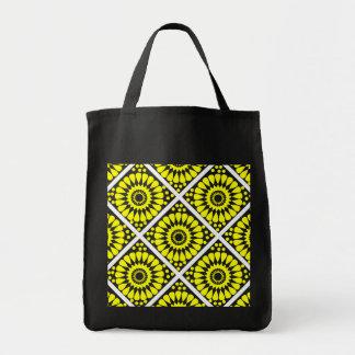 motif patterns géométriques tote bag