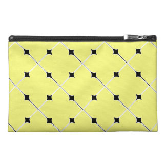 motif patterns jaune travel accessories bag