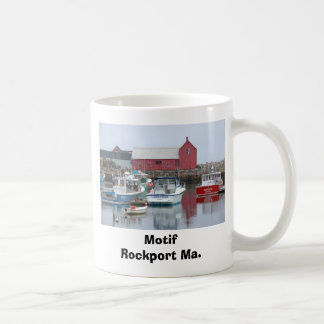 Motif Rockport Ma. Classic White Coffee Mug
