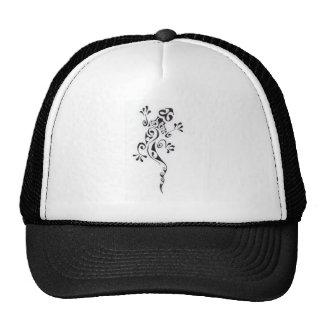 Motif-tatouage-lezard-polyn-sien Mesh Hats