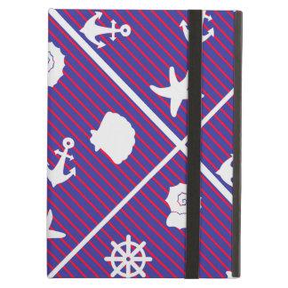 Motifs formes géométriques patterns marins iPad air covers