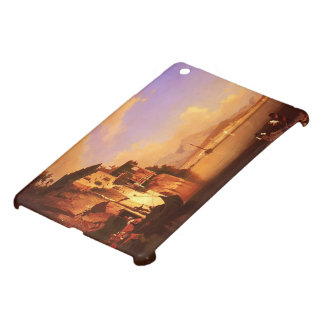 Motio of Lake Garda by Franz Richard Unterberger iPad Mini Cases