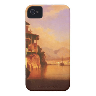 Motio of Lake Garda by Franz Richard Unterberger iPhone 4 Cover