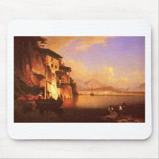 Motio of Lake Garda by Franz Richard Unterberger Mouse Pad