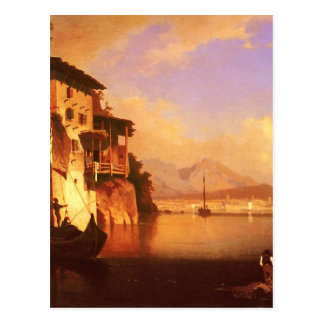 Motio of Lake Garda by Franz Richard Unterberger Postcard