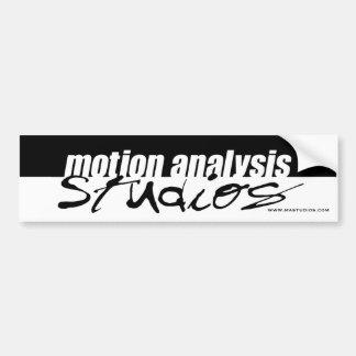 Motion Analysis Studios Bumper Sticker