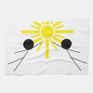 motion and graphics hand towel