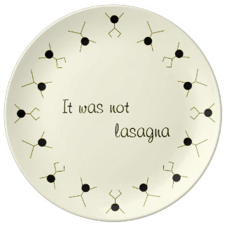 motion and graphics porcelain plate