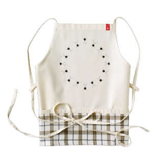 motion and graphics zazzle HEART apron