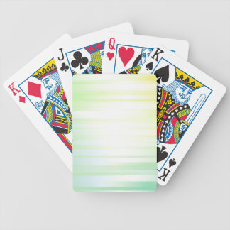 Motion Background Bicycle Playing Cards