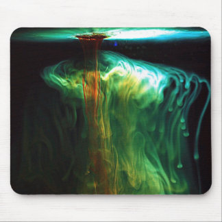 Motion Fluorescence color in Water Mousepad