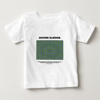 Motion Illusion (Optical Illusion) Baby T-Shirt