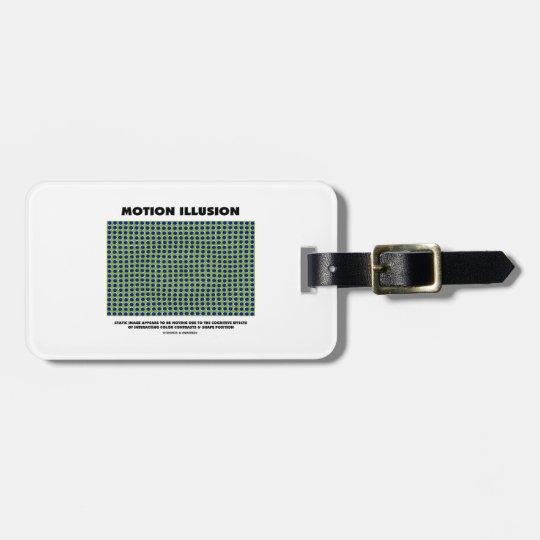 Motion Illusion (Optical Illusion) Bag Tag