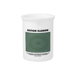 Motion Illusion (Optical Illusion) Pitchers
