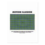Motion Illusion (Optical Illusion) Post Card