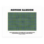 Motion Illusion (Optical Illusion) Post Cards
