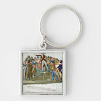 Motion in the Garden of the Palais-Royal Key Chains