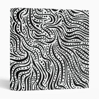 Motion on the Water v2 - Black on White Binder