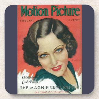 Motion Picture February 1931 Gloria Swanson cover Coaster