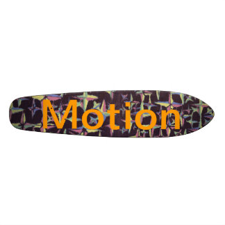 Motion Retro Stars SkateBoard