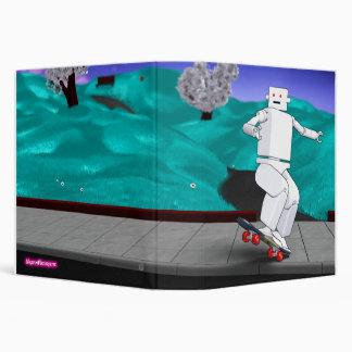 Motion Rotation skateboarding at park Binder