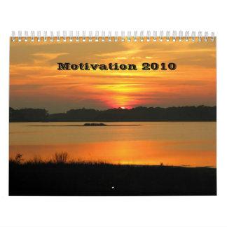 Motivación 2010 calendarios de pared