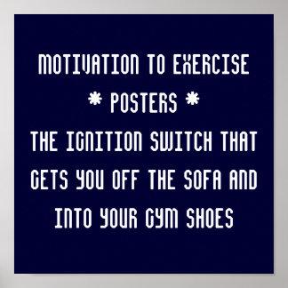 Motivación a los posters de Exercise* *