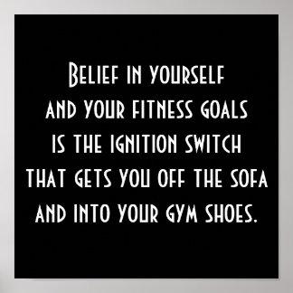 Motivación al ejercicio póster