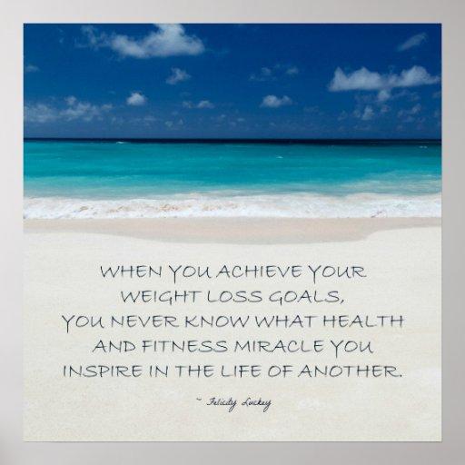 Motivación de la pérdida de peso: La playa alista  Poster
