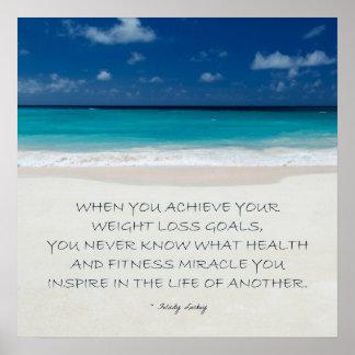 Motivación de la pérdida de peso: La playa alista  Póster