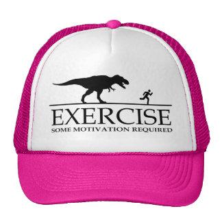 Motivación del ejercicio gorras