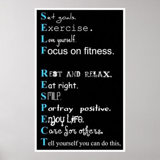 Motivación del ejercicio posters